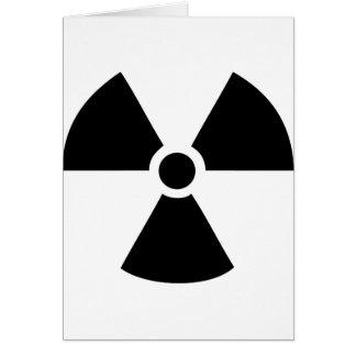 radioactive icon card