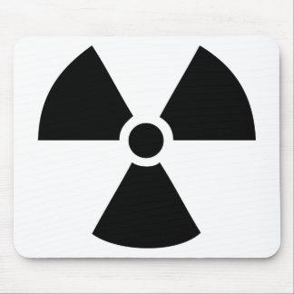radioactive icon mouse pad