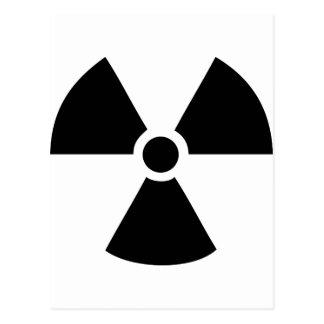 radioactive icon postcard