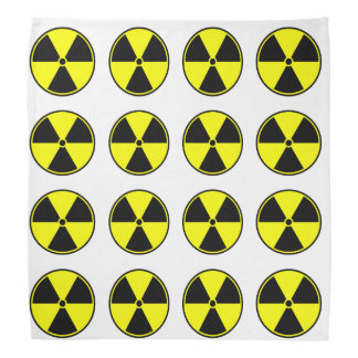Radioactive Ionizing Symbol Bandana