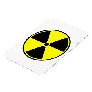 Radioactive Ionizing Symbol Rectangular Photo Magnet