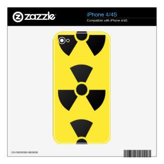 RADIOACTIVE iPhone 4 DECAL