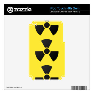 RADIOACTIVE iPod TOUCH 4G DECALS