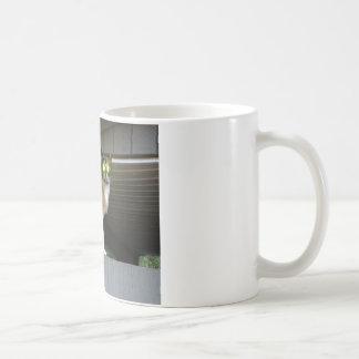 Radioactive kitty coffee mug