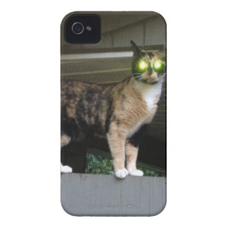 Radioactive kitty iPhone 4 Case-Mate case