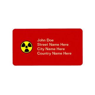Radioactive Label