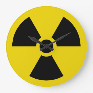 Radioactive Large Clock