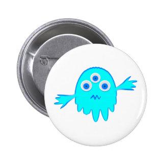 Radioactive Little Monster Pinback Button