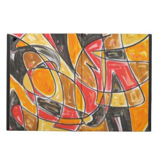 Radioactive Love - Abstract Art Handpainted iPad Air Case