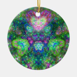 Radioactive Love Ceramic Ornament