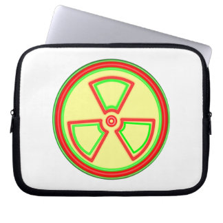 Radioactive Material Symbol Laptop Computer Sleeve