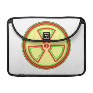 Radioactive Material Symbol Sleeve For MacBooks