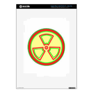 Radioactive Material Symbol iPad 3 Decal
