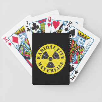 Radioactive Materials Bicycle Playing Cards
