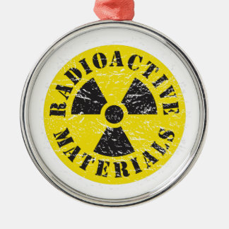 Radioactive Materials Metal Ornament