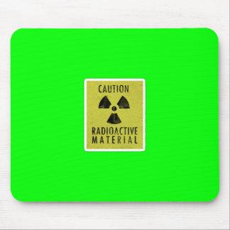 'radioactive materials' mouse pad