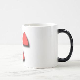 Radioactive?! 11 Oz Magic Heat Color-Changing Coffee Mug
