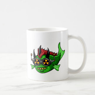 Radioactive Mutant DUH Fish Coffee Mug
