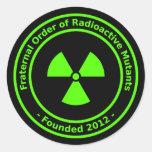 Radioactive Mutants Sticker