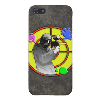 Radioactive Neon Paintball Shooter iPhone 5 Case