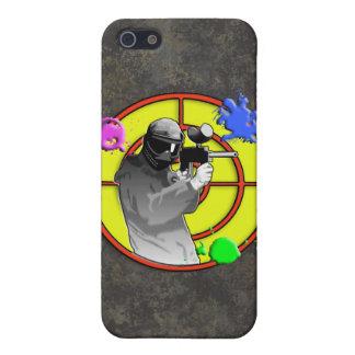 Radioactive Neon Paintball Shooter iPhone SE/5/5s Case