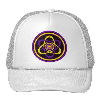 Radioactive Netsurfer Logo Mesh Hats