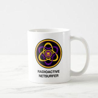 Radioactive Netsurfer Classic White Coffee Mug