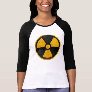 Radioactive Nuclear Reactor Yellow and Black T-Shirt