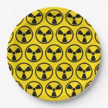 Radioactive Paper Plate