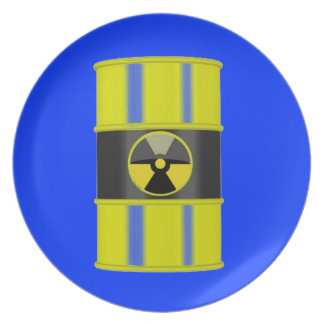 Radioactive-Perfect for 'hot' foods! GET THE SET! Dinner Plate
