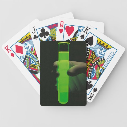 Radioactive playing cards