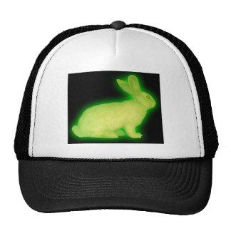 radioactive rabbit trucker hat