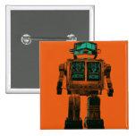 Radioactive Robot Rebellion Pin