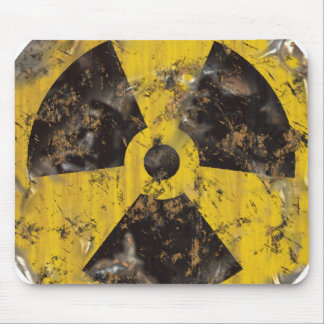 Radioactive Rusted Mouse Pad