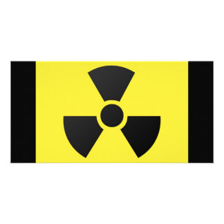Radioactive Sign Card