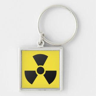 Radioactive Sign Keychain