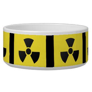 Radioactive Sign Pet Bowl