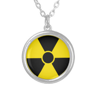 Radioactive Silver Plated Necklace