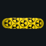 "Radioactive Skateboard Deck<br><div class=""desc"">Bright yellow and black radioactive design</div>"