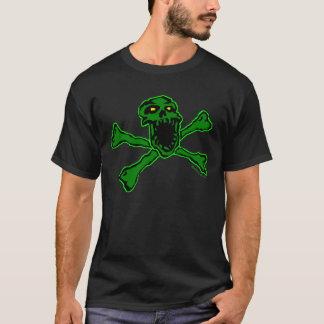 Radioactive Skull and Bones T-shirt