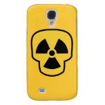 Radioactive Skull Galaxy S4 Cases
