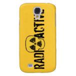 Radioactive Skull Samsung Galaxy S4 Cases