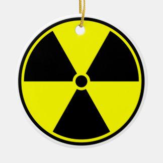 Radioactive Symbol Ceramic Ornament