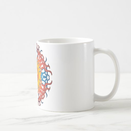 Radioactive Symbol Classic White Coffee Mug