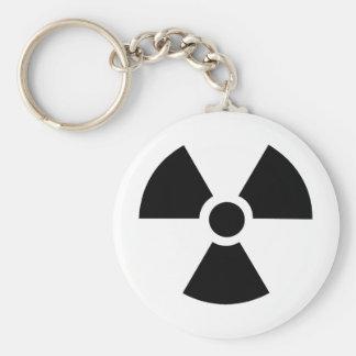 Radioactive Symbol! Keychain