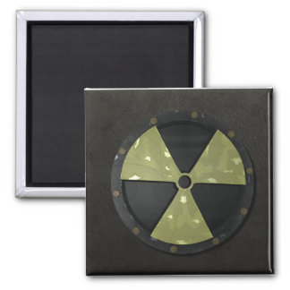 Radioactive Symbol Fridge Magnets