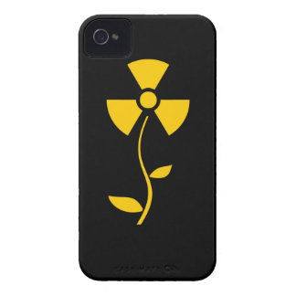 Radioactive to flower Yellow design Case-Mate iPhone 4 Case