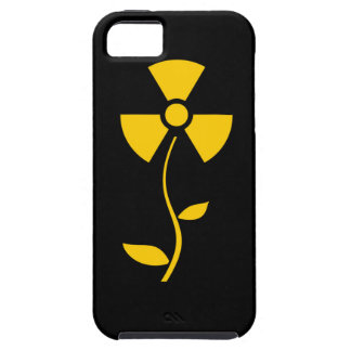 Radioactive to flower Yellow design iPhone SE/5/5s Case