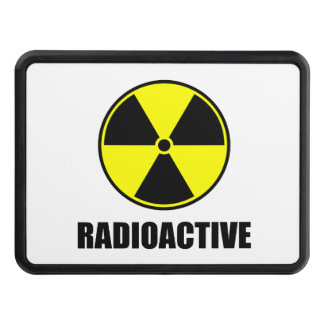 Radioactive Trailer Hitch Covers