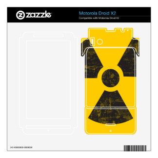 Radioactive Transuranic Plutonium - Pu - Nuclear Motorola Droid X2 Skin